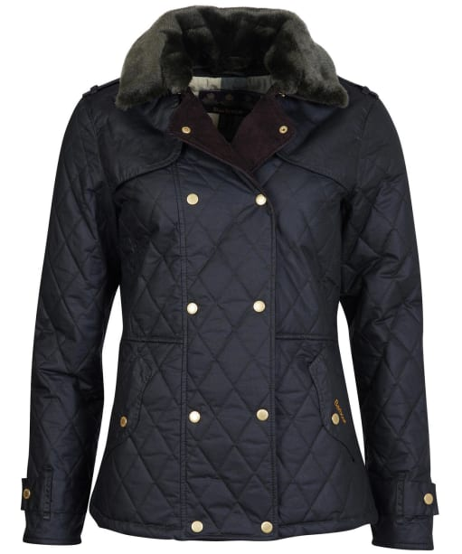Women's Barbour Elmis Waxed Jacket - Sage