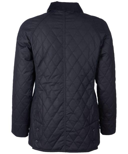 Women's Barbour Gibbon Waxed Jacket - Navy