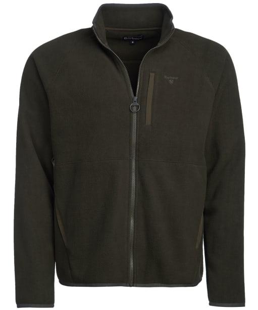 Men's Barbour Essential Zip Through Fleece - Forest