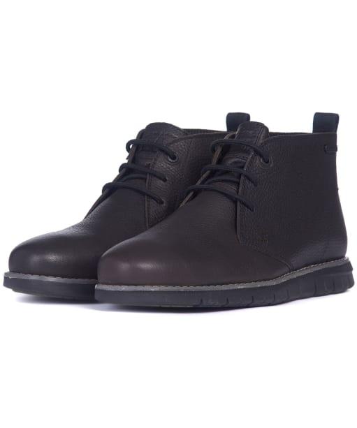 Men's Barbour Burghley Boots - Black