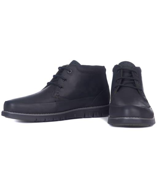 Men's Barbour Nelson Chukka Boots - Black