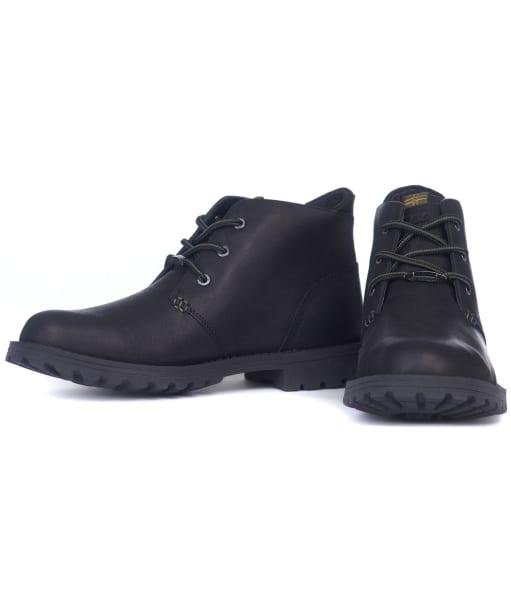 Men's Barbour Pennine Chukka Boots - Black