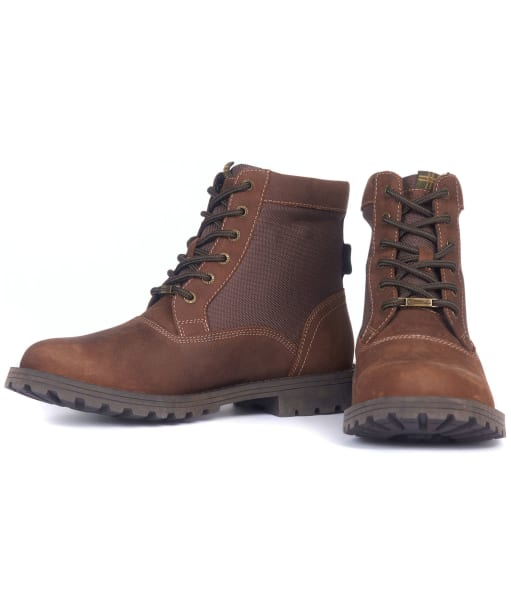 Cheviot Derby Boot - Conker Brown