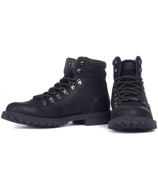 Men's Barbour Quantock Hiker Boots - Black