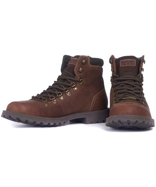 Men's Barbour Quantock Hiker Boots - Conker Brown