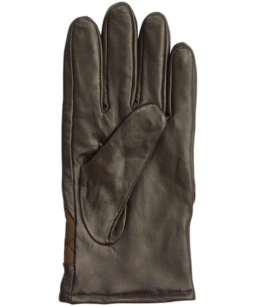 Men's Barbour Dalegarth Gloves - Olive / Brown