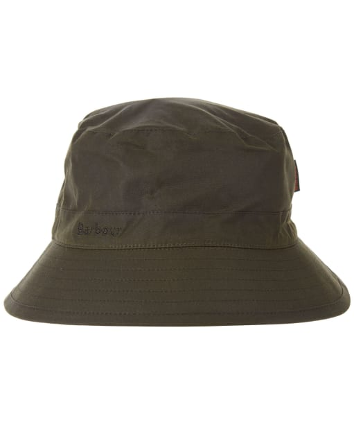 Men's Barbour Waxed Sports Hat - Archive Olive