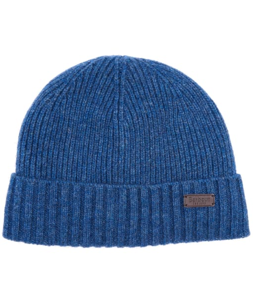 Men's Barbour Carlton Beanie Hat - Dark Denim