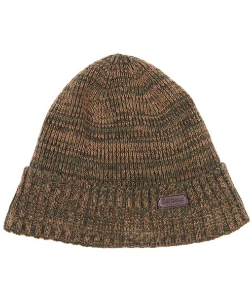 Men's Barbour Whitton Beanie Hat - Olive