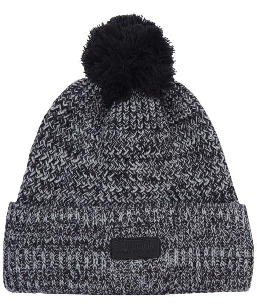 Men's Barbour International Skipton Pom Beanie Hat - Black