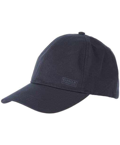 Men's Barbour International Axle Sports Cap - Black