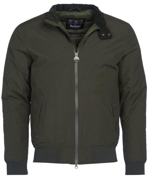 Men's Barbour International Steve McQueen Arlington Waterproof Jacket - Sage