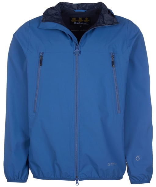 Men's Barbour Tinmouth Waterproof Jacket - Loch Blue