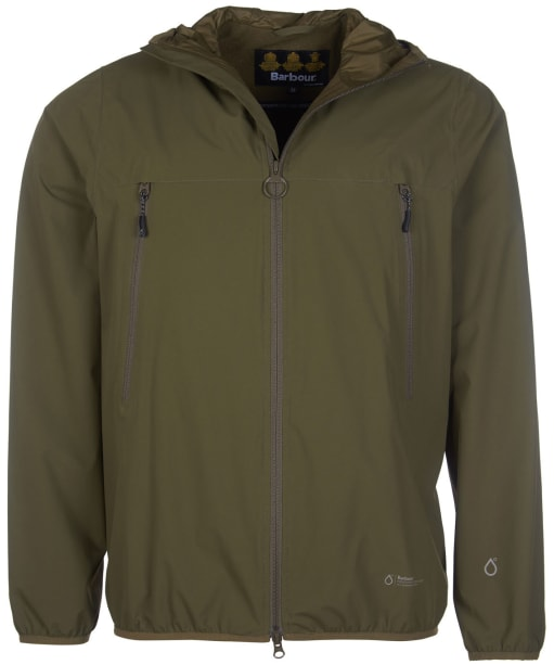 Men's Barbour Tinmouth Waterproof Jacket - Army Green