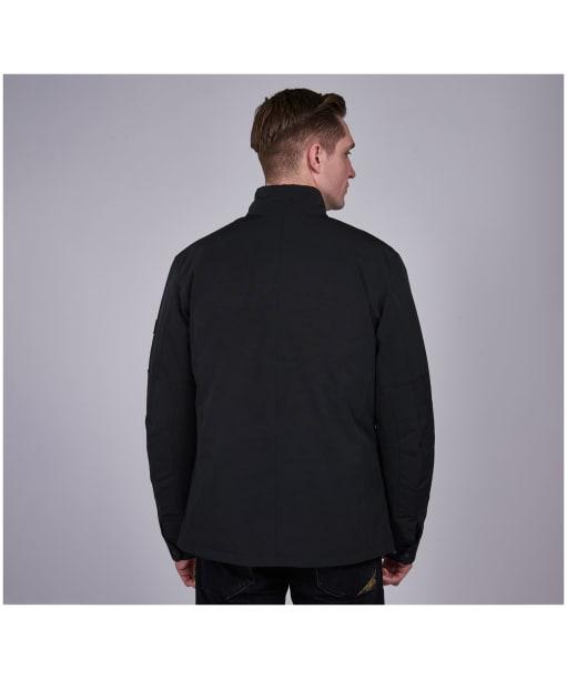 Men's Barbour International Waterproof Duke Jacket - Black