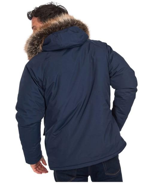 Men's Barbour Gremble Waterproof Jacket - Navy