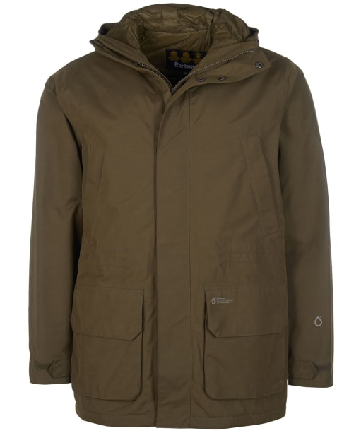 Men's Barbour Pitstone Waterproof Jacket - Army Green