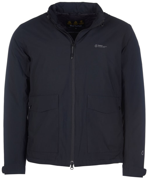 Men's Barbour Amersham Waterproof Jacket - Black