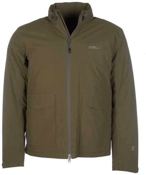 Men's Barbour Amersham Waterproof Jacket - Army Green