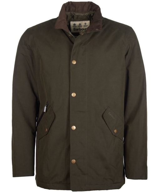 Men's Barbour Chester Waterproof Jacket - Dark Olive