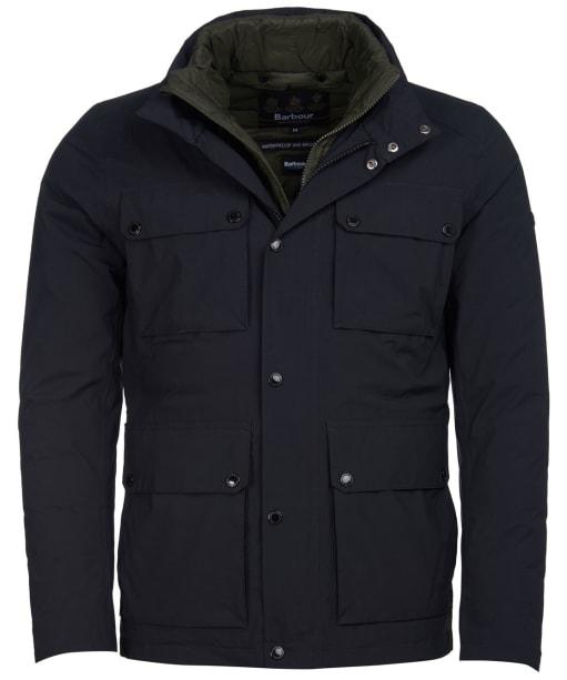 Men's Barbour International Lane Waterproof Jacket - Black