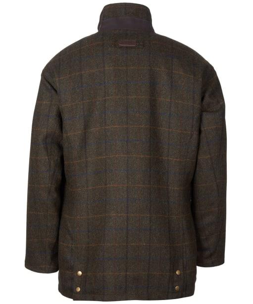 Men's Barbour Woolsington Wool Jacket - Olive Check