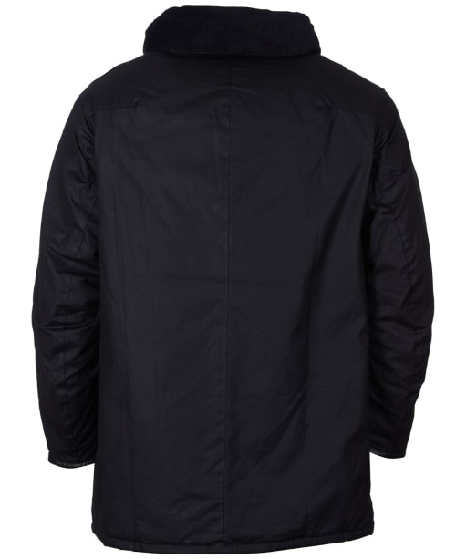 Men's Barbour Gold Standard Supa Border Waxed Jacket - Black