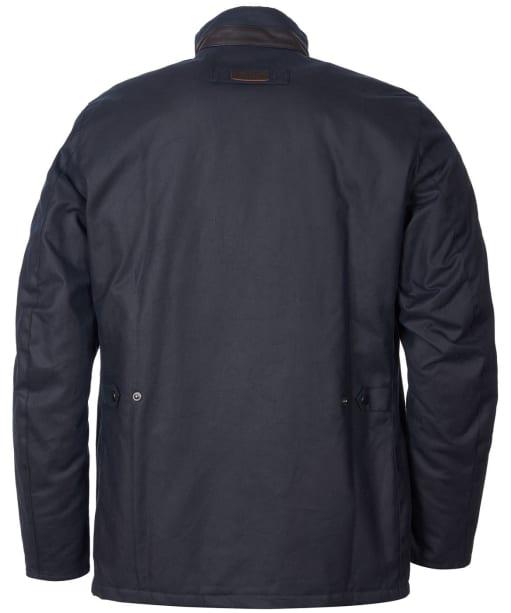 Men's Barbour Gilpin Waxed Jacket - Navy