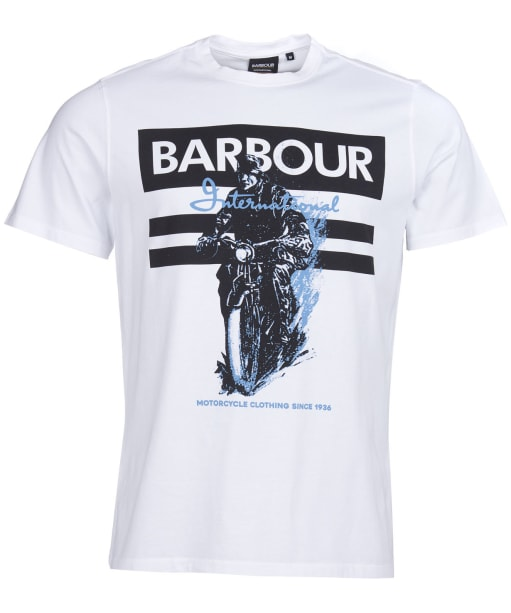 Men's Barbour International Heritage Tee - White