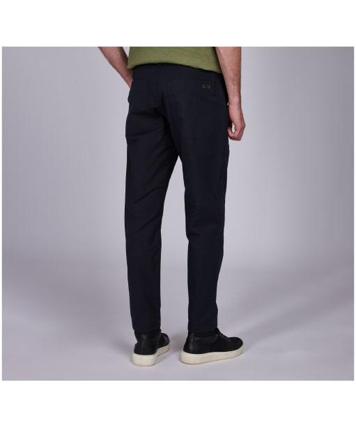 Men's Barbour International Patch Pocket Trousers - Black