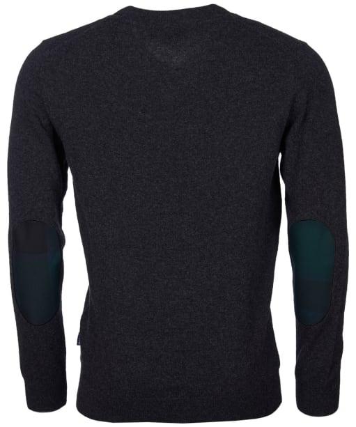 Men's Barbour Harrow V-neck Sweater - Charcoal