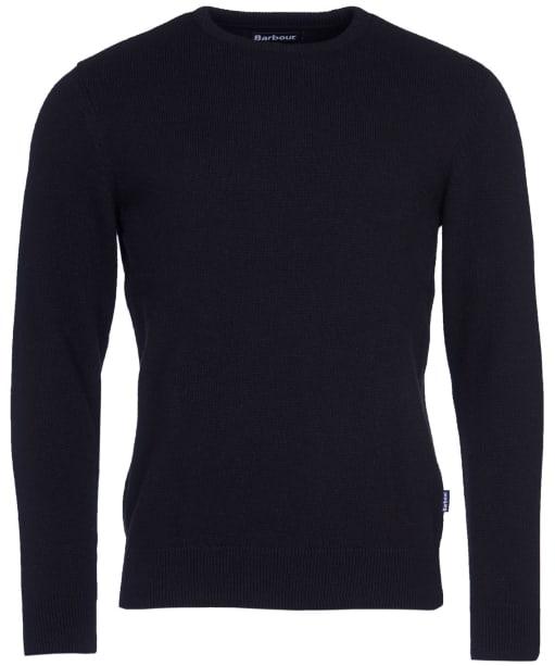 Men's Barbour Harold Crew Neck Sweater - Black