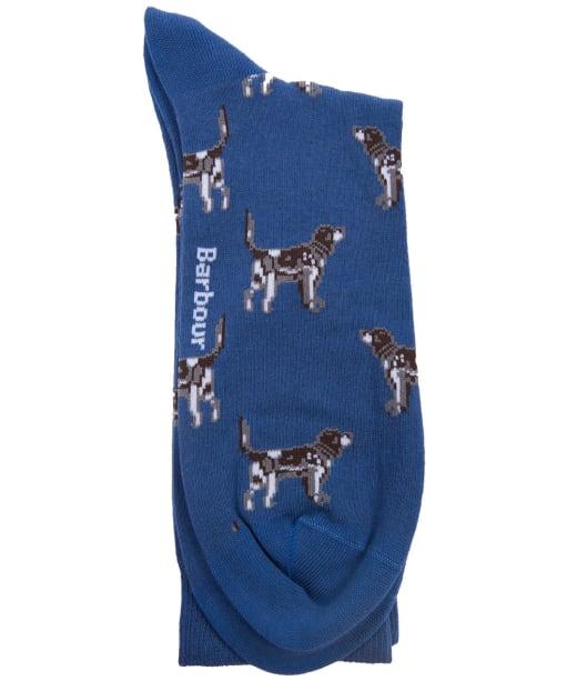 Men's Barbour Pointer Socks - Blue