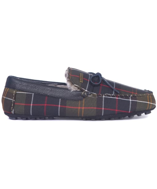 Men's Barbour Tueart Polyester/Suede Slippers - Classic Tartan