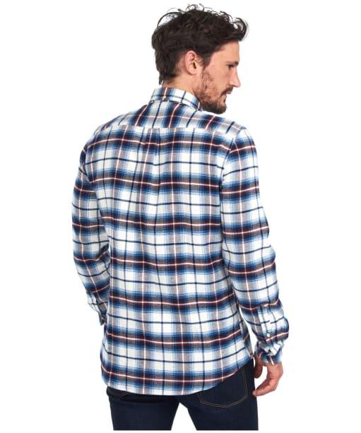 Men's Barbour Herrington Shirt - Neutral Check