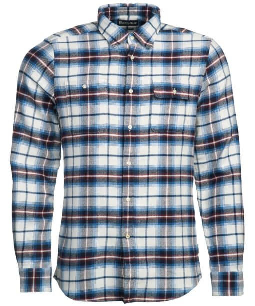 Men's Barbour Herrington Shirt - Neutral Check
