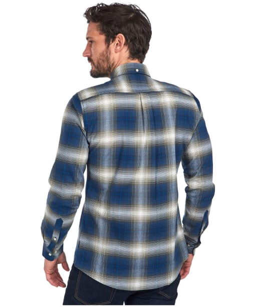Men's Barbour Crail Shirt - Navy Check