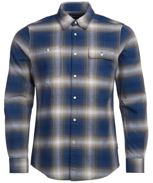 Men's Barbour Crail Shirt - Navy Check
