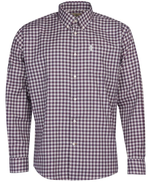 Men's Barbour Thornley Thermo Weave Shirt - Red Check