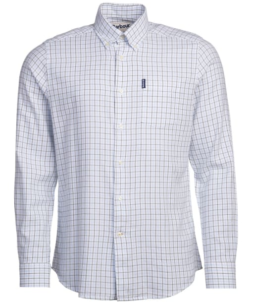 Men's Barbour Eco 4 Tailored Shirt - White Check