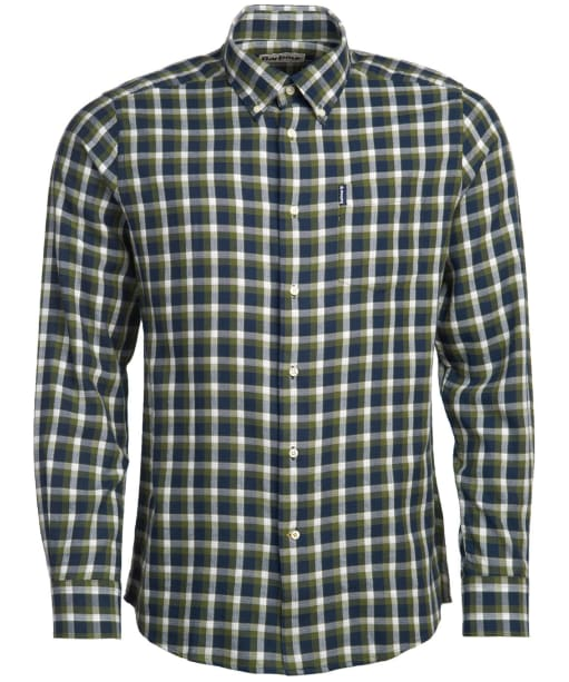 Men's Barbour Eco 2 Tailored Shirt - Navy Check