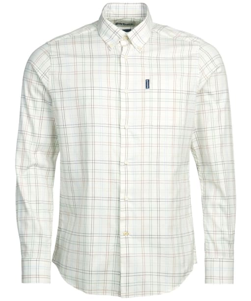 Men's Barbour Tattersall 20 Tailored Shirt - Brown Check