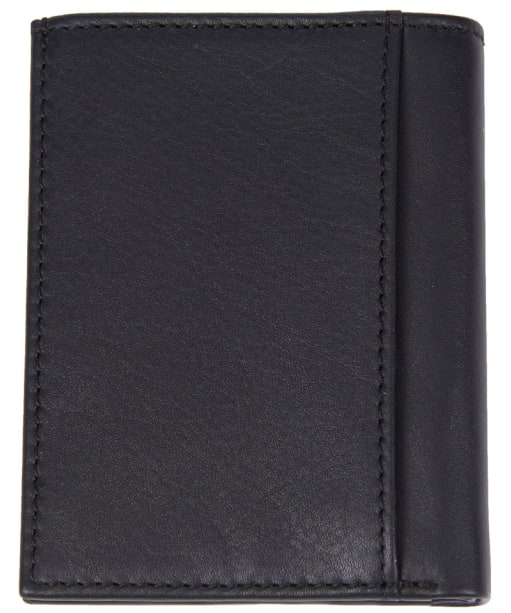 Men's Barbour Colwell Small Leather Wallet - Black