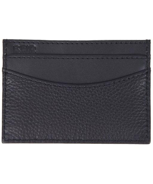 Men's Barbour International Leather Cardholder - Black