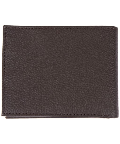 Men's Barbour Amble Leather I.D. Wallet - Dark Brown