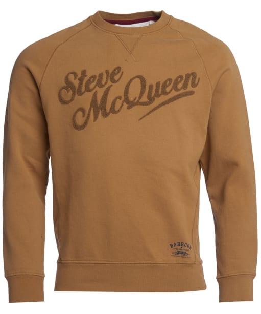 Men's Barbour International Steve McQueen Doc Sweater - Camel