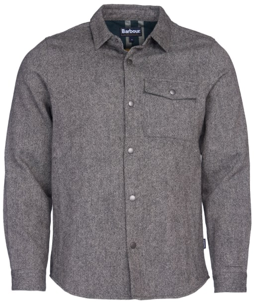 Men's Barbour Swaledale Overshirt - Charcoal