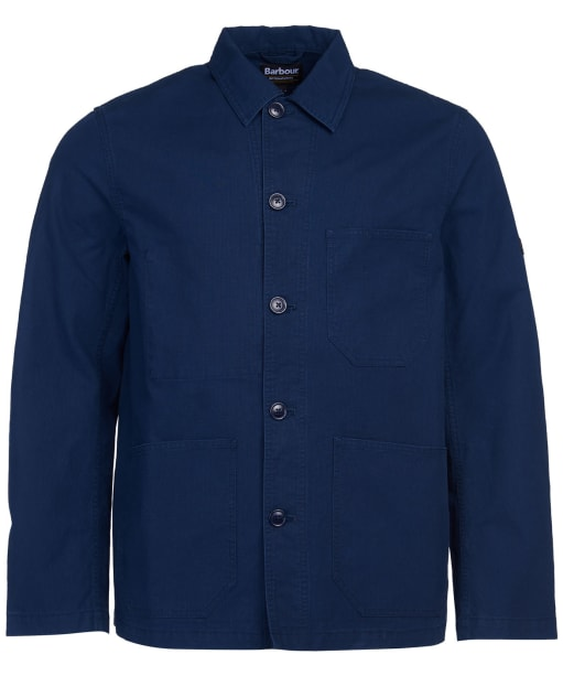 Men's Barbour International Utility Overshirt - Navy