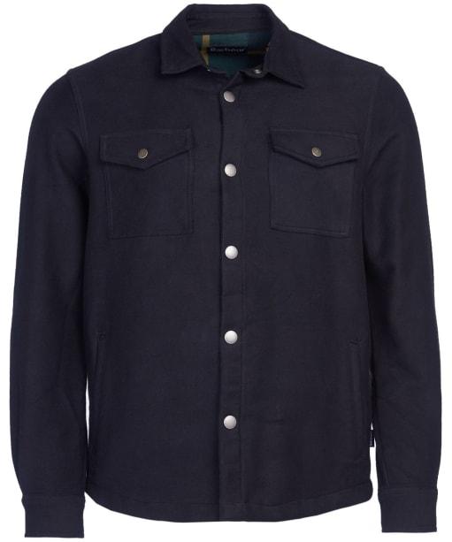 Men's Barbour Carrbridge Overshirt - Black