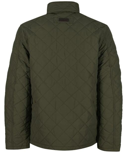 Men's Barbour Shoveler Quilted Jacket - Army Green